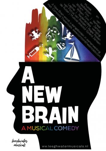 Poster New Brain zonder data